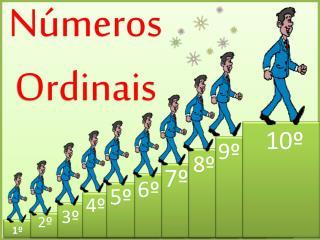 N�meros  Ordinais