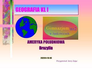 GEOGRAFIA KL I