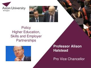 Policy  Higher Education, Skills and Employer Partnerships