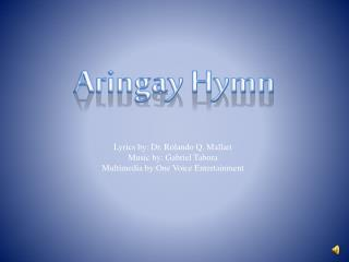 Aringay Hymn