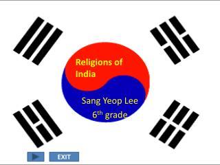 Sang  Yeop  Lee 6 th  grade