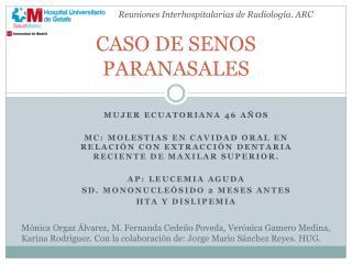 CASO DE SENOS PARANASALES