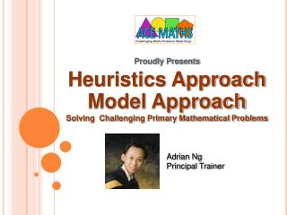 Proudly Presents  Heuristics Approach Model Approach Solving  Challenging Primary Mathematical Problems