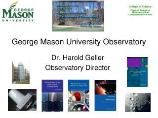 George Mason University Observatory