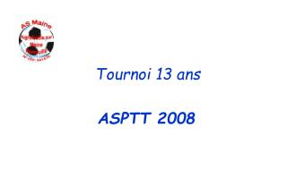 Tournoi 13 ans