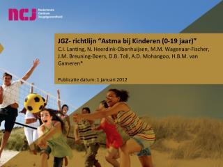"""JGZ- richtlijn """"Astma bij Kinderen (0-19 jaar)"""""""