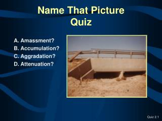Name That Picture  Quiz