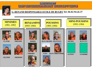 ECOLE DE RUGBY  RUGBY CLUB MAUREPAS-ELANCOURT  ENTENTE ASPTT TRAPPES