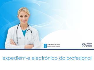expedient-e electrónico do profesional