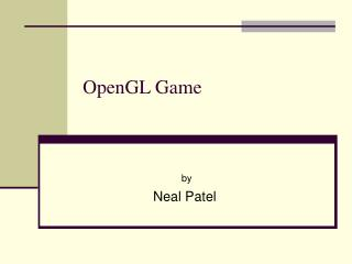 OpenGL Game