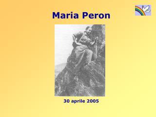 Maria Peron