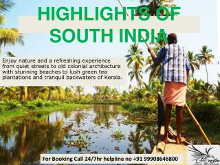 Highlights of South India - 12 Days