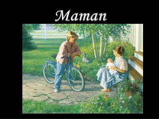 Maman oh Maman