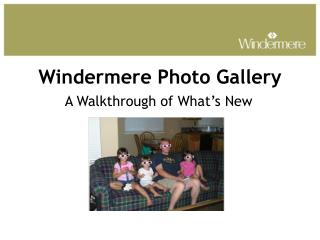 Windermere Photo Gallery