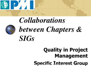 Collaborations between Chapters & SIGs