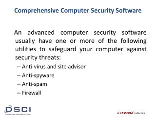 Comprehensive  Computer Security Software