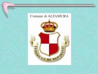 Comune di ALTAMURA