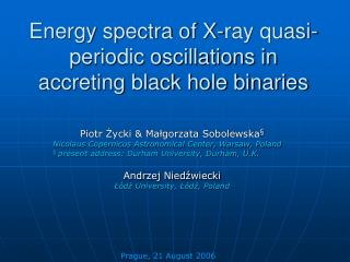 Energy spectra of X-ray quasi-periodic oscillations in accreting black hole binaries