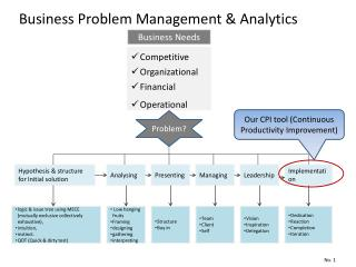 Business Problem Management & Analytics
