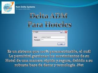 Delta ADM  Para Hoteles