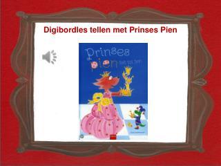 Digibordles  tellen met Prinses Pien