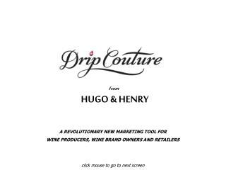 from  HUGO & HENRY