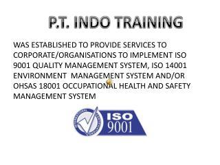 P.T. INDO TRAINING