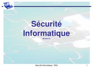 S�curit� Informatique Module 02
