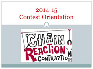 2014-15 Contest Orientation