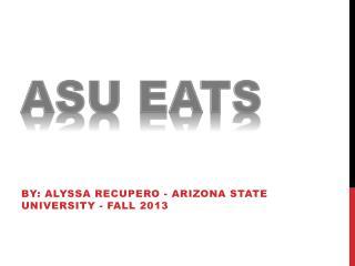 ASU Eats