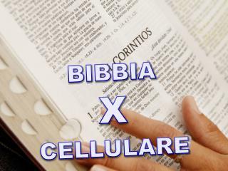 BIBBIA X CELLULARE