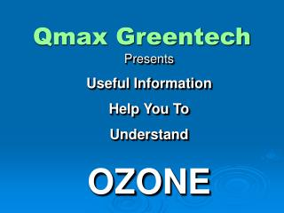 Qmax Greentech