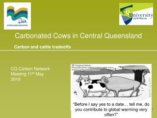Carbonated Cows in Central Queensland