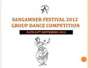 SANGAMNER FESTIVAL 2012  GROUP DANCE COMPETITION