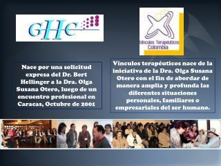 Carta de solicitud creación  grupo Hellinger Colombia