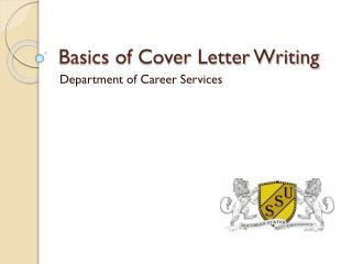 Basics of Cover Letter Writing