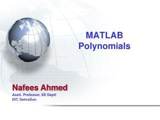 MATLAB Polynomials