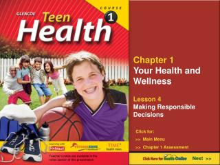 Chapter 1 Your Health and Wellness