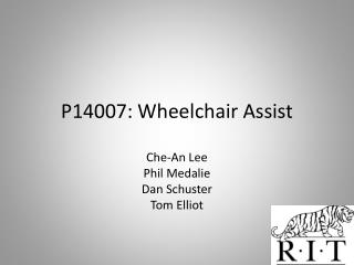 P14007: Wheelchair Assist