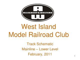 West Island  Model Railroad Club