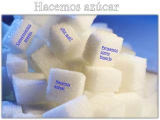 Hacemos azúcar