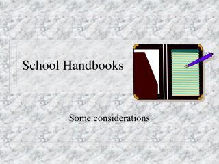 School Handbooks