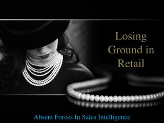 Absent Forces In Sales Intelligence