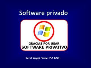 Software privado