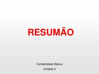 RESUMÃO