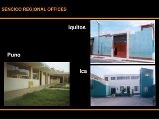 SENCICO REGIONAL OFFICES