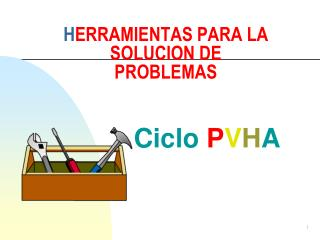 H ERRAMIENTAS PARA LA SOLUCION DE PROBLEMAS