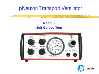 pNeuton Transport Ventilator