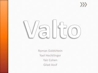 Roman  Goldshtein Yael  Hechtlinger Yair  Cohen Gilad Assif