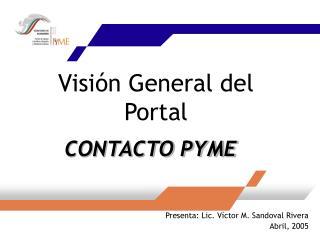 Visión General del Portal